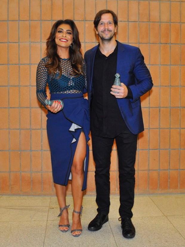 Juliana Paes e Vladimir Brichta (Foto: Samuel Chaves/Brazil News)