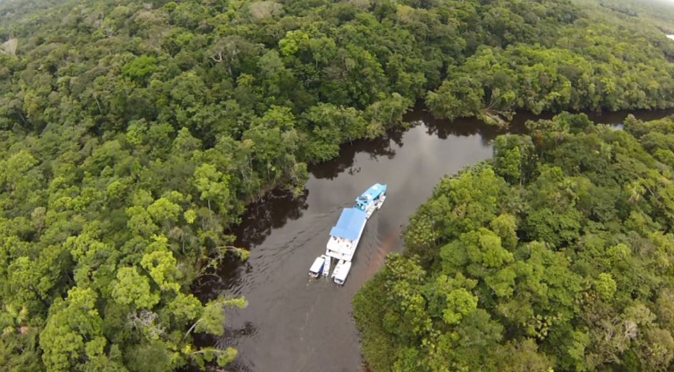Estudo da Ufla explica influência da Amazônia no clima do Sul de MG (Foto: Reprodução/EPTV)