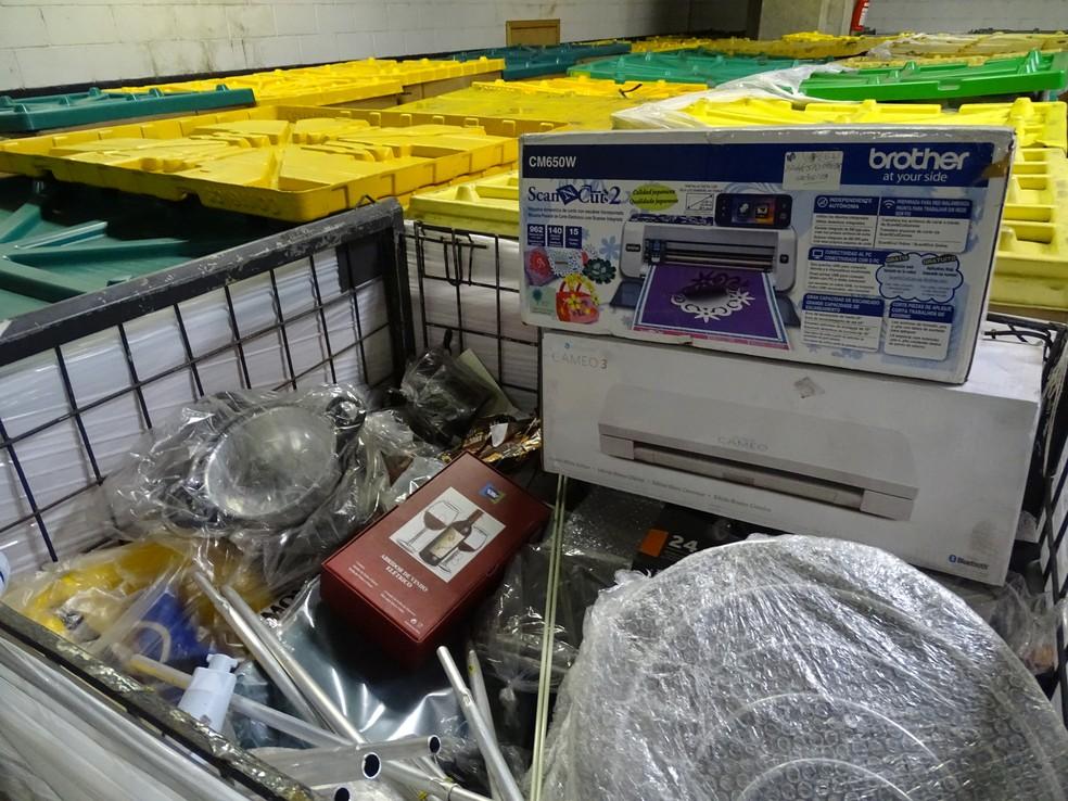 Itens à venda em leilão dos Correios — Foto: Correios/Divulgação