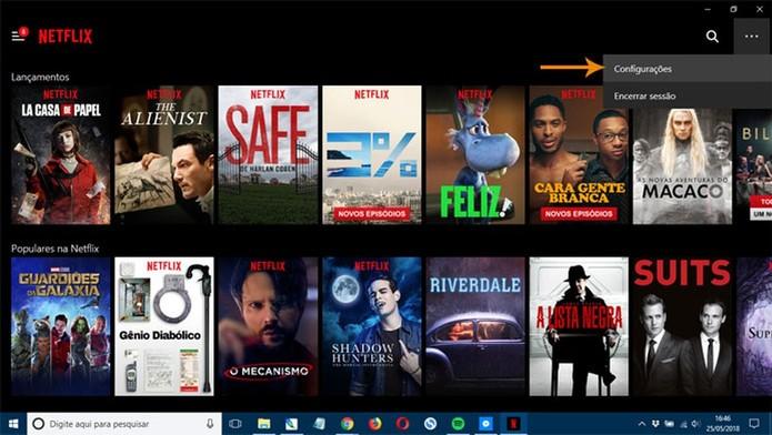 App do Windows 10 encaminha para o browser (Foto: Reprodução/Pedro Cardoso)