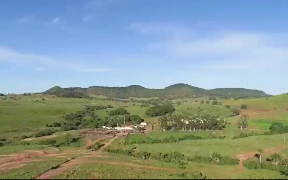 Fazenda da Afipe tem mais de 11 mil hectares e custou R$ 90 milhões em Goiás — Foto: Reprodução