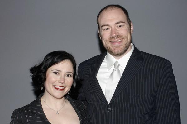 A atriz Alex Borstein com o ex-marido, o ator Jackson Douglas, em foto de 2006 (Foto: Getty Images)