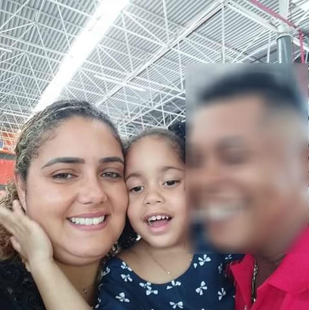 Luzia Alencar dos Santos e Julia dos Santos — Foto: Arquivo Pessoal