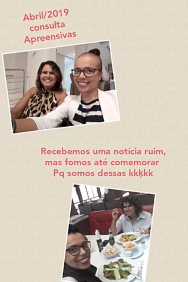 Stephany Rosa chora em vídeo e pede ajuda (Foto: Reprodução/Instagram)