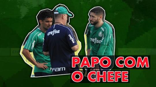 Escalação do Palmeiras: treino de saída de bola indica provável time titular para jogo contra o Bahia