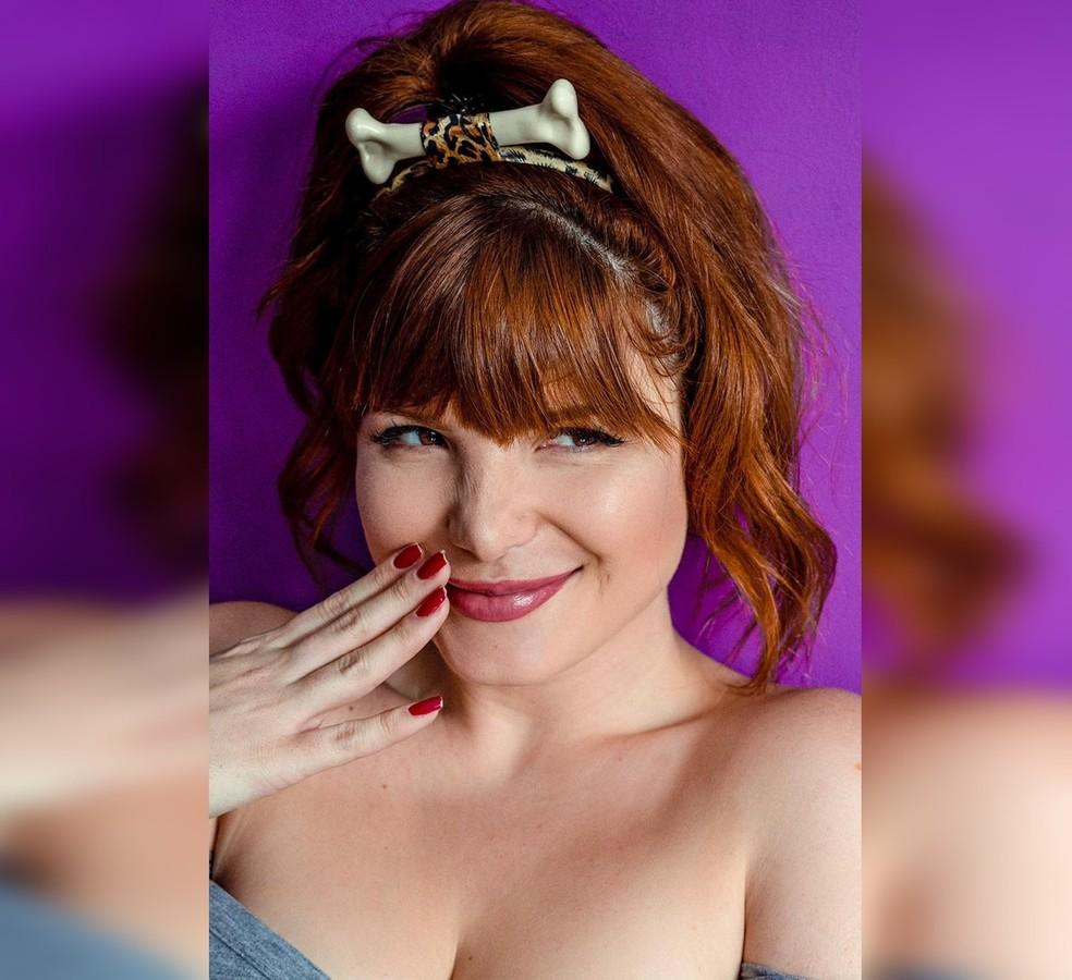 Brenda Olivieri participou da última edição da revista Playboy— Foto: Arquivo pessoal