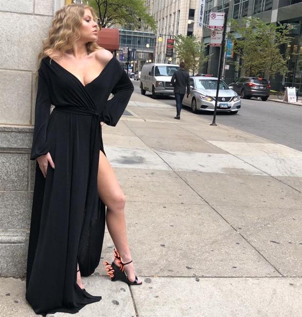 Luisa Sonza em Chicago (Foto: Divulgação)
