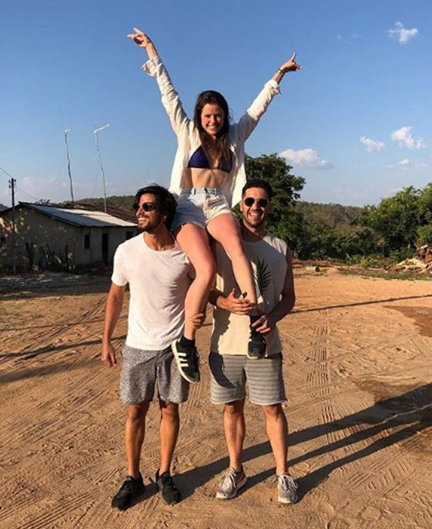 Rodrigo Simas, Agatha Moreira e Miguel Rômulo (Foto: Reprodução/Instagram)