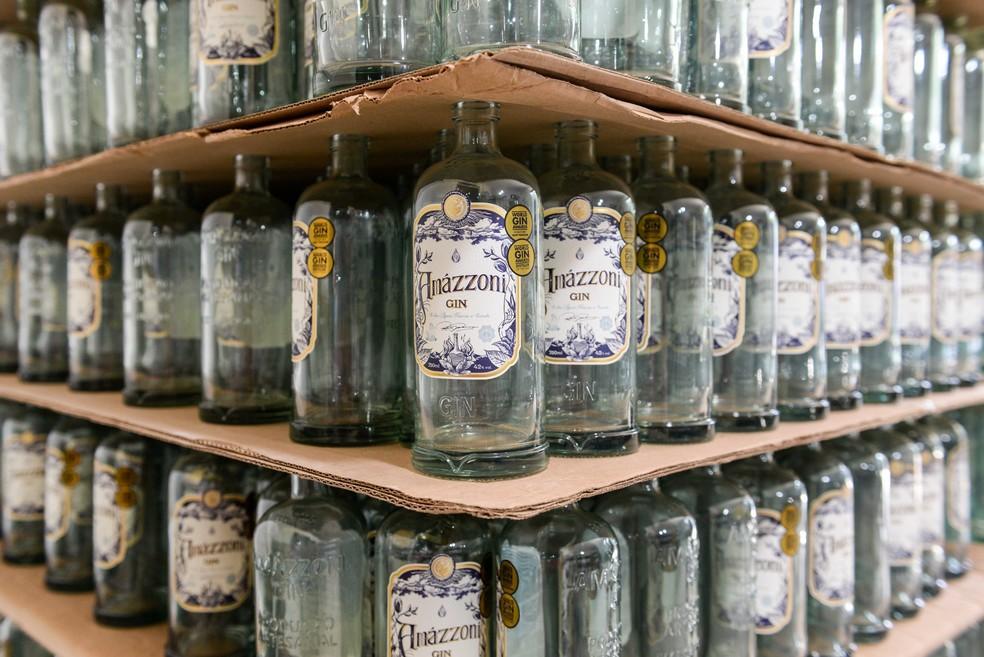 Bebida já tinha faturado prêmios no World Gin Awards em 2018 e 2019 — Foto: Felipe Vieira/Prefeitura Barra Mansa