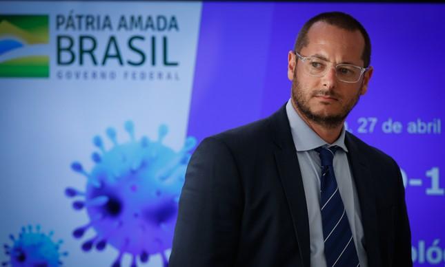 Fábio Wajngarten, titular da Secretaria de Comunicação da Presidência (Secom)