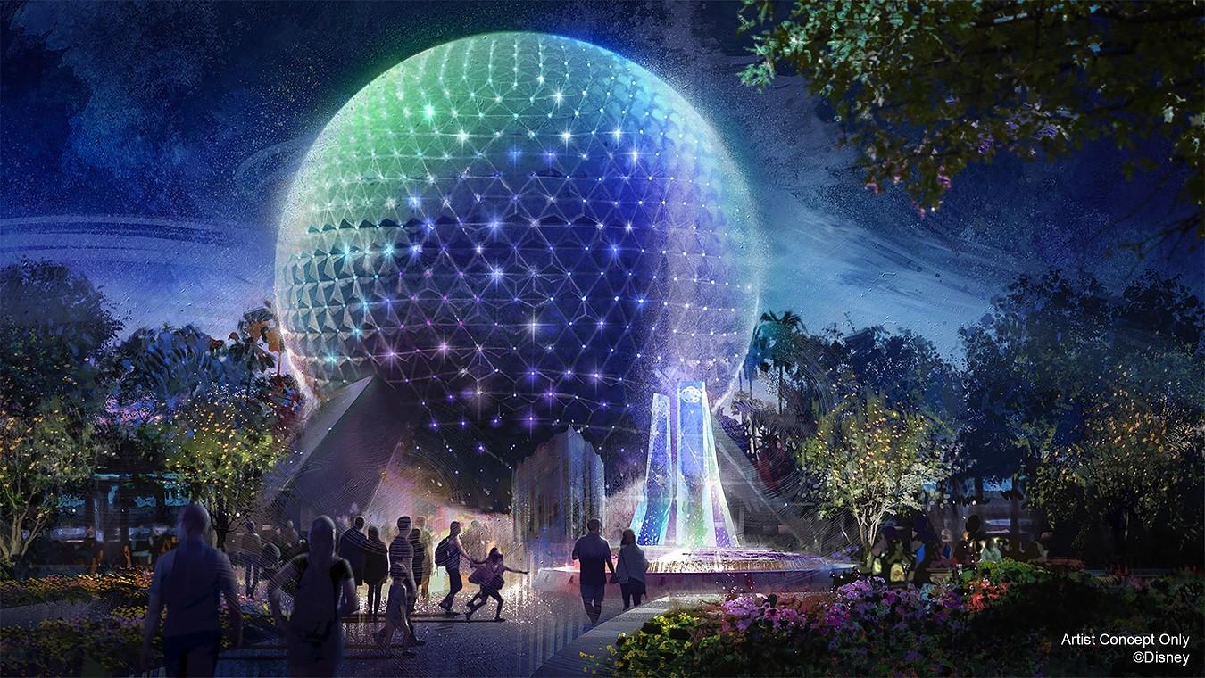Símbolos de Magia: EPCOT (Spaceship Earth) (Foto: Walt Disney World)