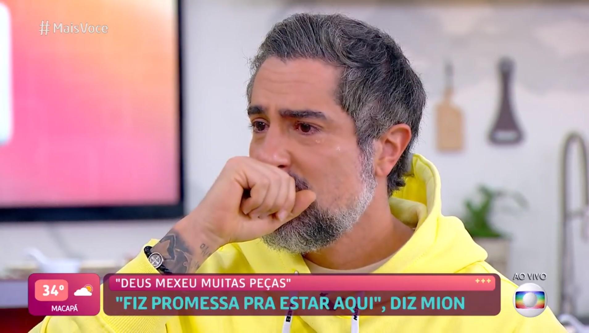 Marcos Mion se emociona ao falar de permanência no 'Caldeirão' em 2022: 'Vale a pena ter esperança'