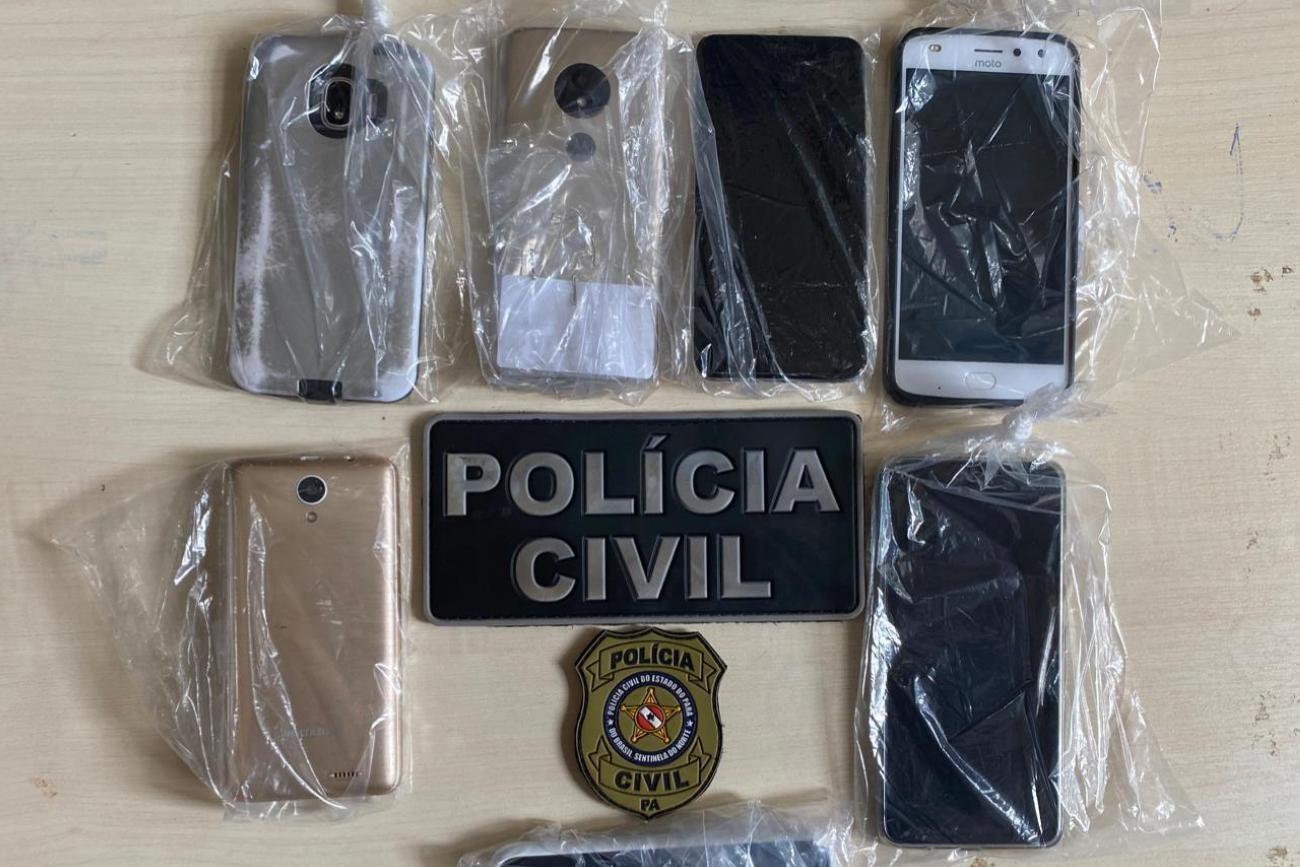 Celulares são apreendidos no interior do Pará em operação policial contra notícias falsas