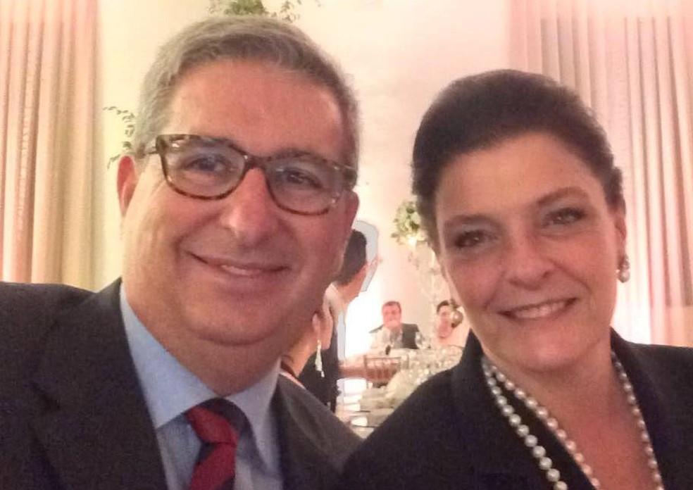Adriano Ribeiro e a esposa Maria de Lurdes desapareceram em Brumadinho na sexta — Foto: Reprodução/Facebook
