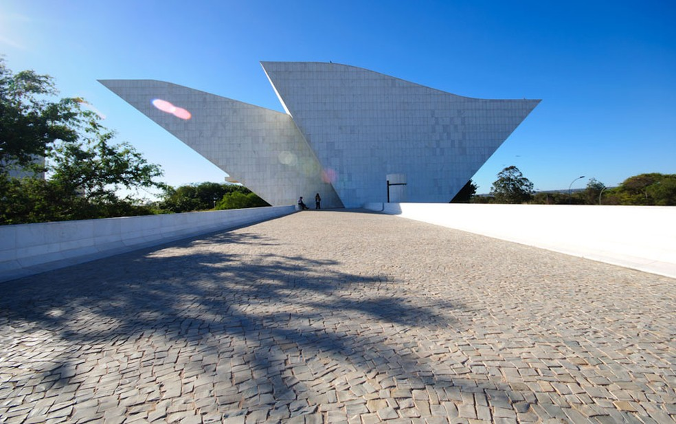 Panteão da Pátri, em Brasília — Foto: Marcelo Brandt/G1