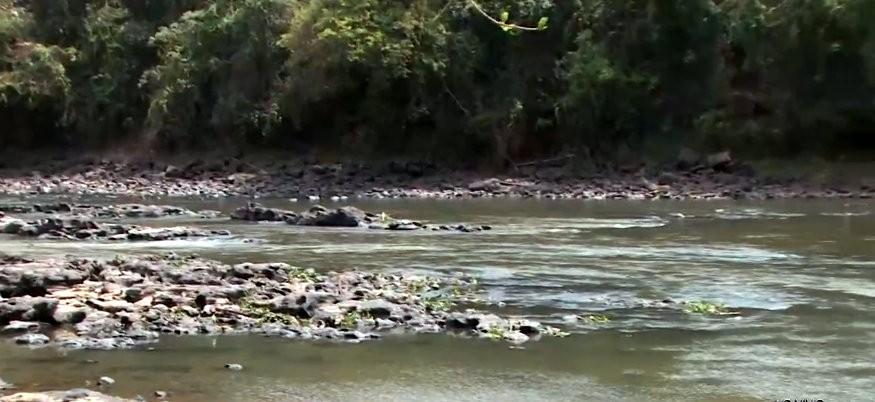 Sem chuva há mais de 80 dias, nível do Rio Mogi Guaçu cai e muda cenário em Pirassununga