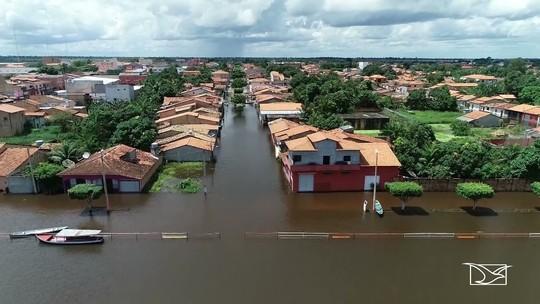 24 cidades decretam estado de emergência por causa das chuvas no Maranhão