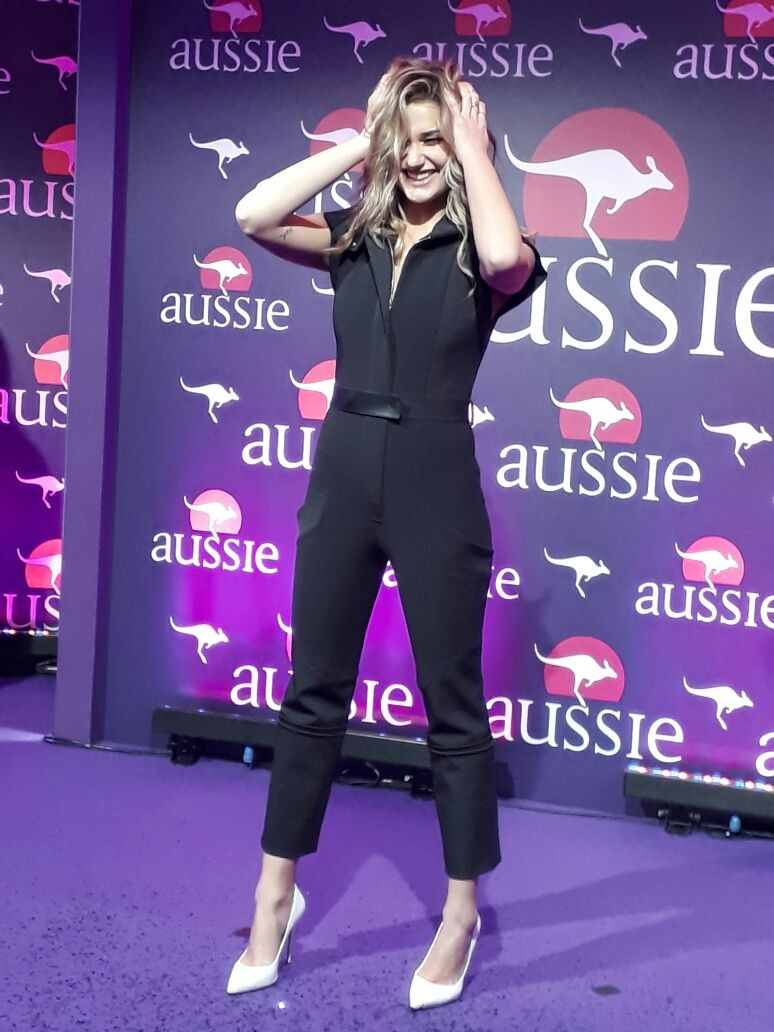 Sasha Meneghel em evento em SP (Foto: Vogue Brasil)