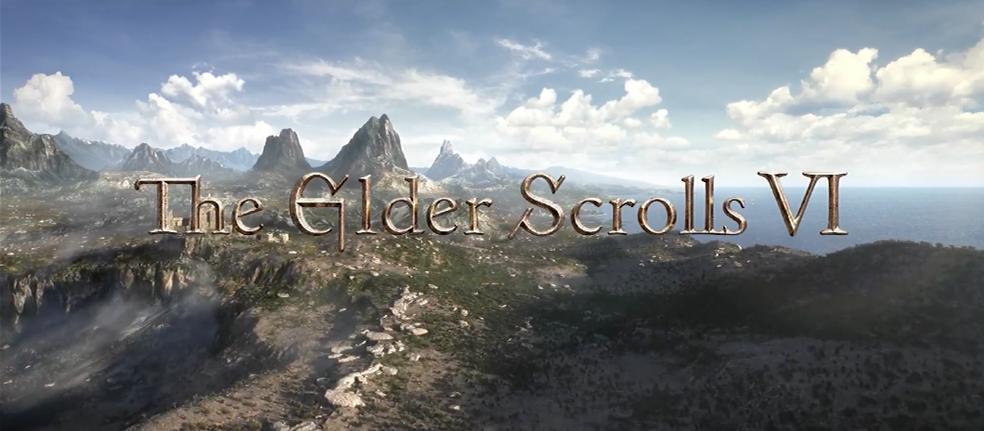 The Elder Scrolls VI foi a grande surpresa da Bethesda na E3 2018 e segue sem maiores informações — Foto: Reprodução/YouTube
