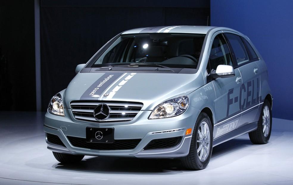 Porjeto da Mercedes movido a hidrogênio (Foto: Reuters)