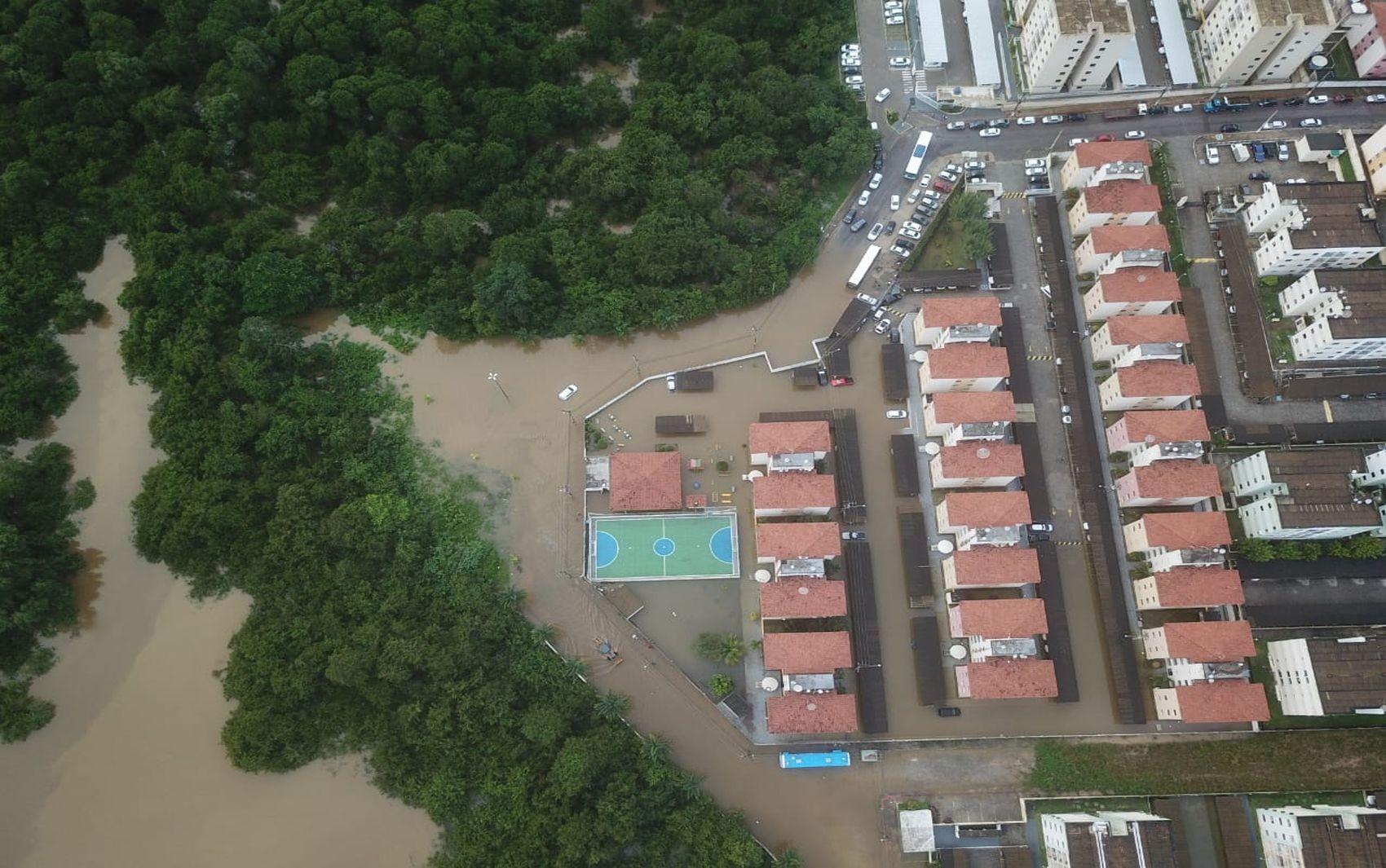 Mais de 2 mil pessoas sofrem com as consequências das fortes chuvas que caíram em Sergipe - Notícias - Plantão Diário