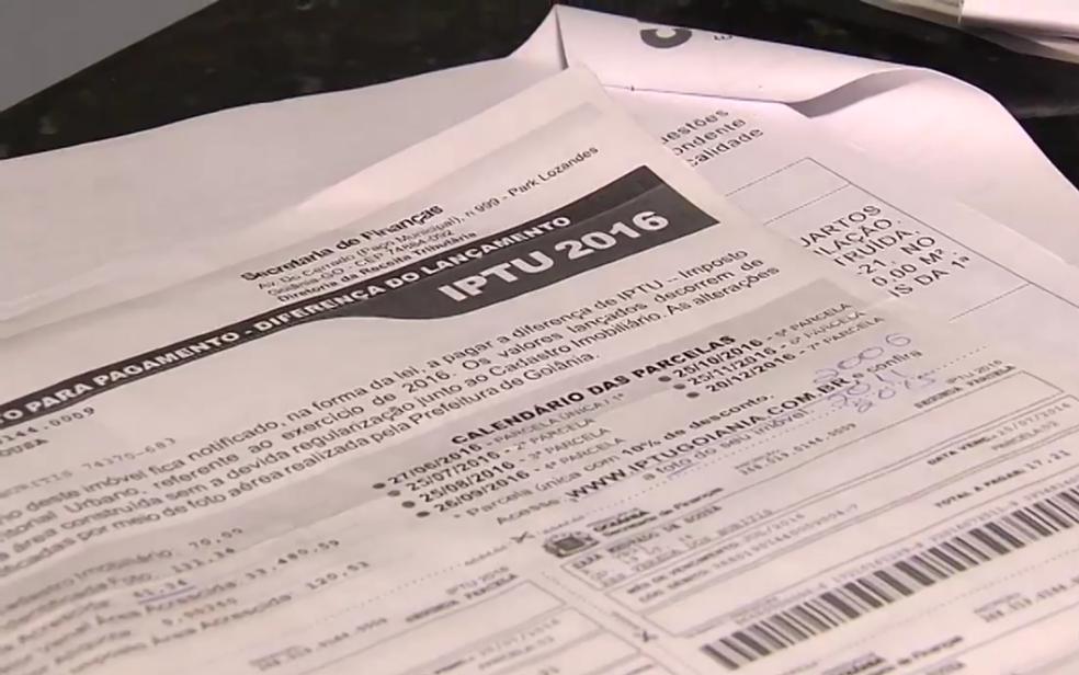 Contribuintes tem até outubro para renegociar dívidas (Foto: Reprodução/TV Anhnaguera)