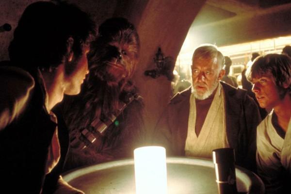 A cantina de Star Wars: Uma Nova Esperança (1977) que servirá de inspiração para a atração no parque da Disney (Foto: Divulgação)