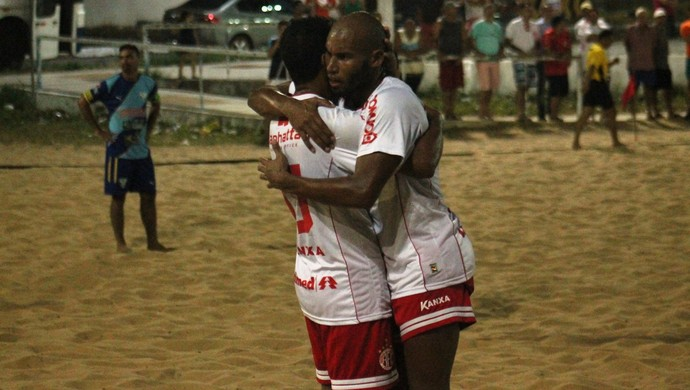 América-RN beach soccer (Foto: Canindé Pereira/Divulgação)
