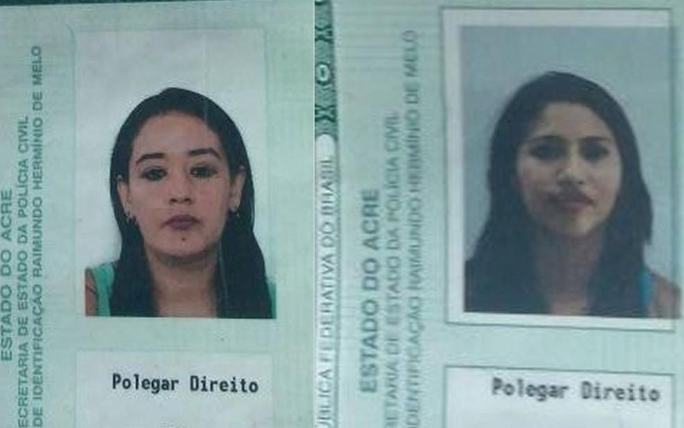 Bruna Mirela da Silva Ferreira (à esquerda) e Ana Paula da Silva (à direita) são do Acre e apresentaram documentos falsos à PRF (Foto: Polícia Rodoviária Federal de Pontes e Lacerda (MT))