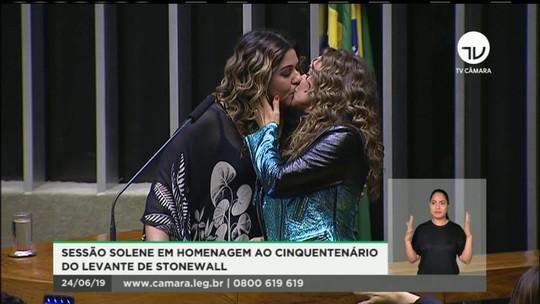 Olhar Em Pauta: Daniela Mercury é homenageada em sessão solene pelo orgulho LGBT