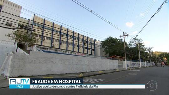 MP denuncia PMs e empresário por fraude em compra de material para hospital militar em Niterói,RJ