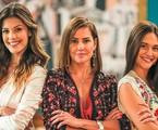 Vitória Strada, Deborah Secco e Juliana Paiva em 'Salve-se quem puder' | TV Globo
