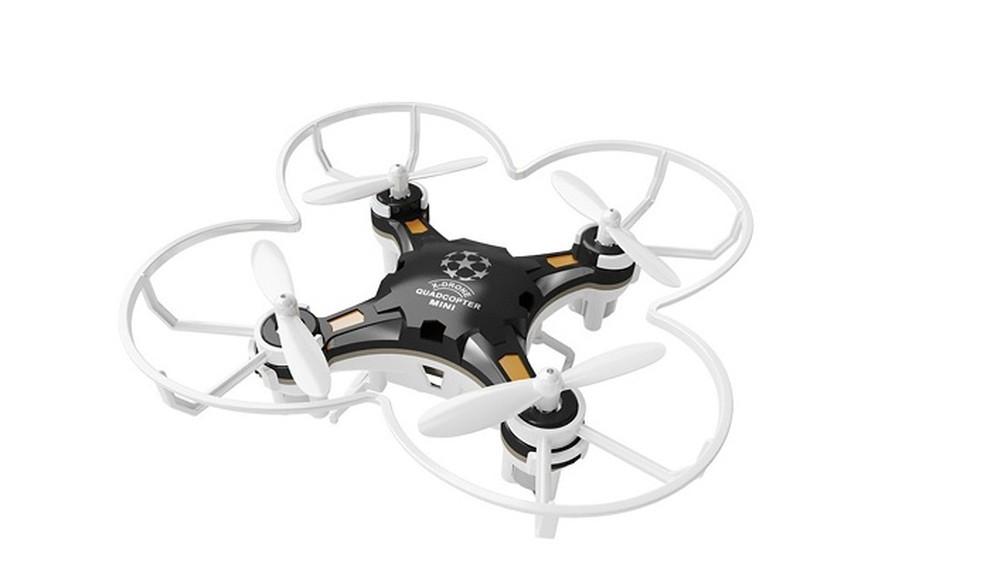 Mini drone Sbego FQ777-124 traz proteção para as hélices (Foto: Divulgação/Sbego)