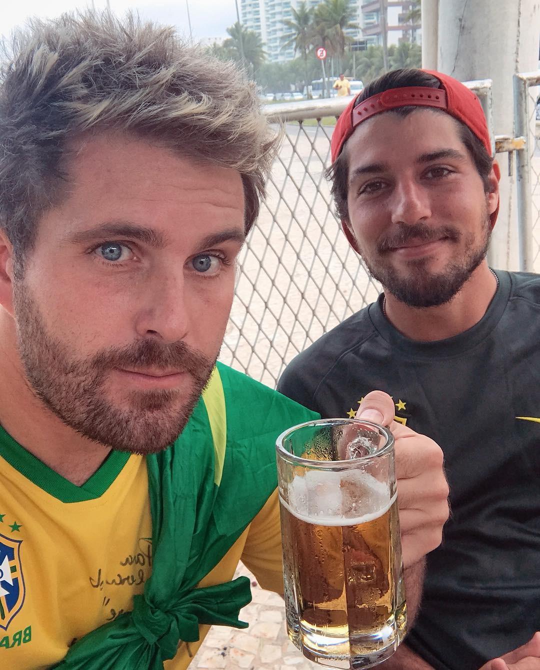 Thiago Gagliasso: Vamoooooos BRASIL!!!! (Foto: Reprodução/Instagram)