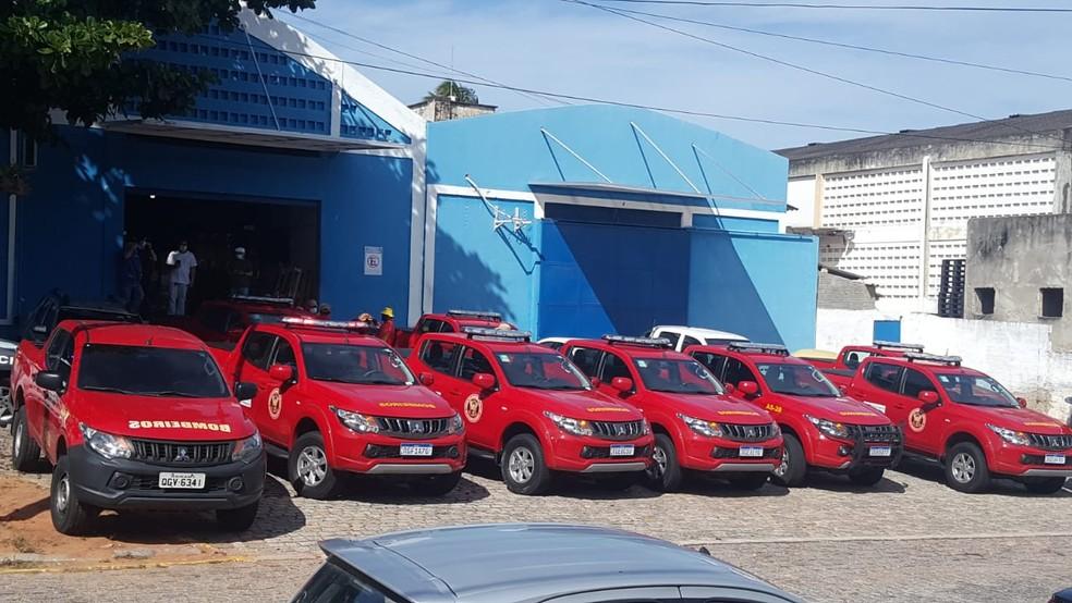 Distribuição foi feita pelo Corpo de Bombeiros — Foto: Sara Cardoso/Inter TV Cabugi