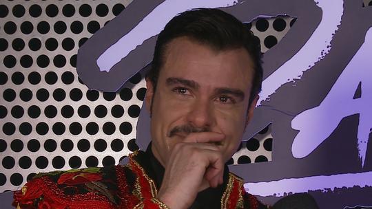 Joaquim Lopes chora e comenta eliminação do 'Dança dos Famosos': 'Só tenho a agradecer'