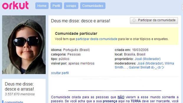 Orkut (Foto: Reprodução)