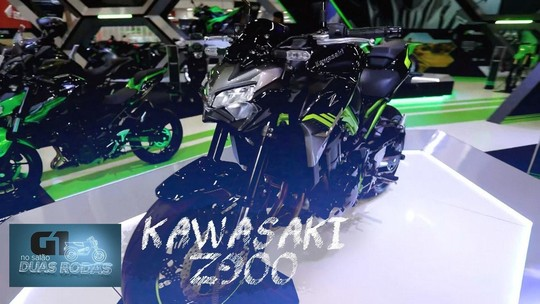 Com visual radical, Kawasaki Z900 chega ao Salão Duas Rodas