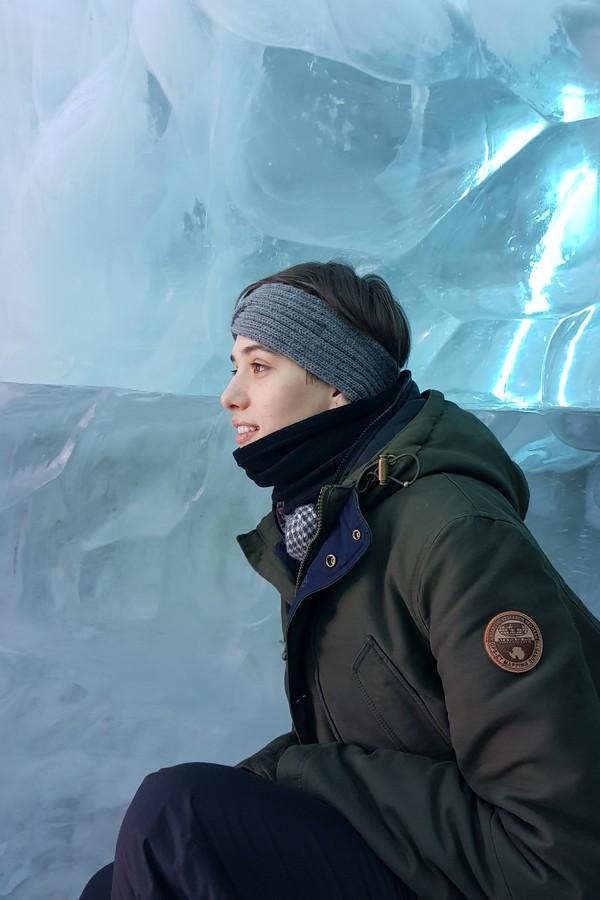 Jaque Cantelli na Islândia (Foto: Divulgação)