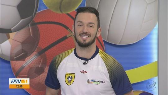 Ginasta Diego Hypólito fala da sua experiência Jogos Abertos
