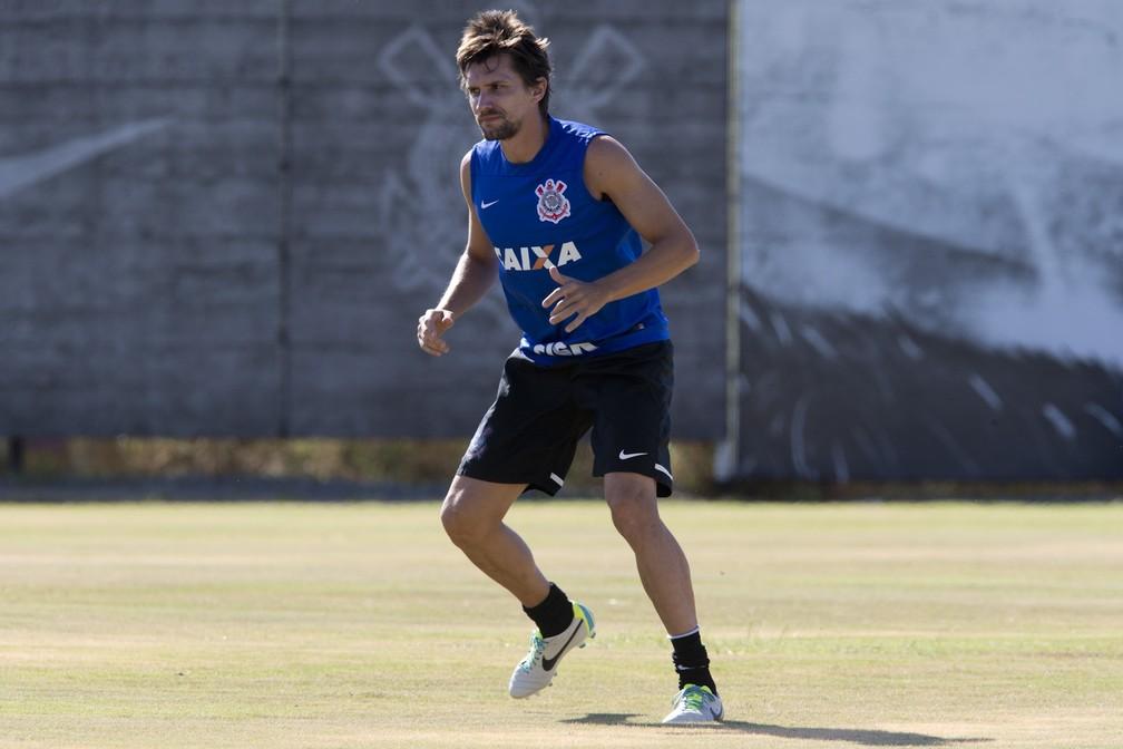 Paulo André, ex-jogador do Corinthians — Foto: Daniel Augusto Jr / Agência Corinthians
