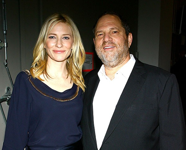 Cate Blanchett e Harvey Weinstein em 2007 (Foto: Getty Images)