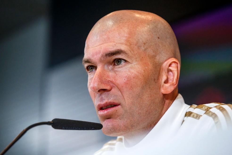 Zidane alegou que Bale preferiu não jogar contra o Manchester City — Foto: Getty Images