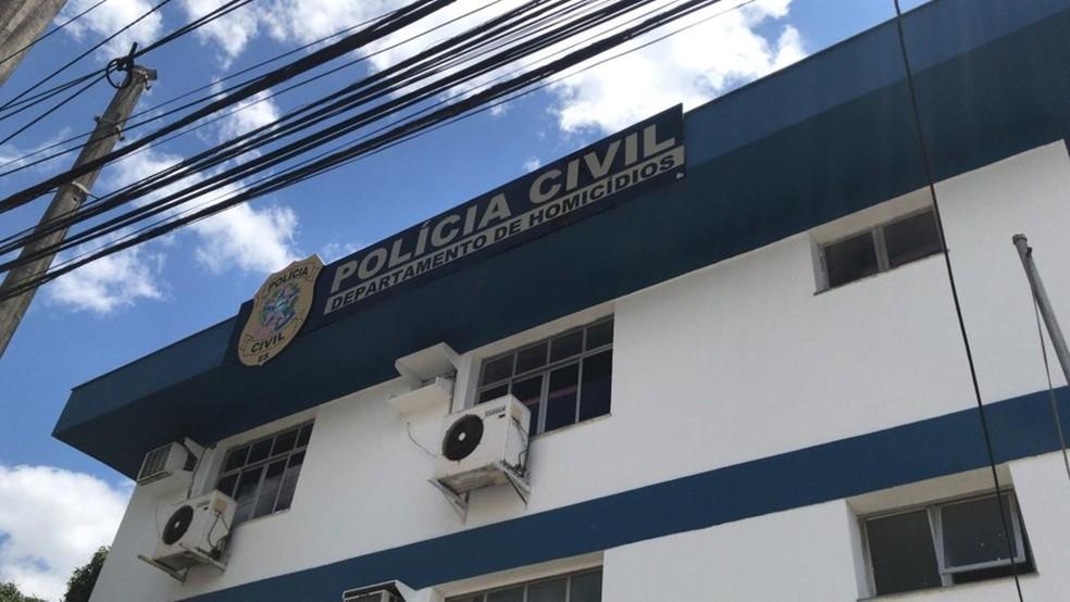 Caso foi registrado no DHPP de Vila Velha, ES  — Foto: Divulgação/ PCES