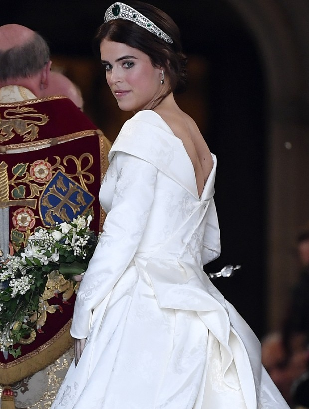 Princesa Eugenie se casa no Castelo de Windsor (Foto: Getty Images)
