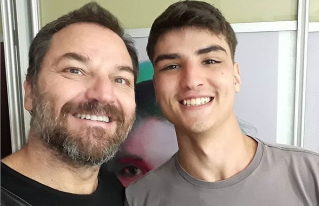 Filho do ator Licurgo (que antes assinava Licurgo Spínola), Caian Zattar estará na nova temporada de 'Malhação'. Ele viverá o 'bad boy' Artur, conhecido como Tatoo (Foto: Reprodução Instagram)