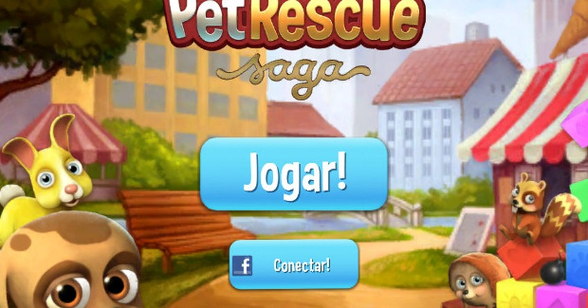 Como jogar Pet Rescue Saga, o novo game dos criadores de