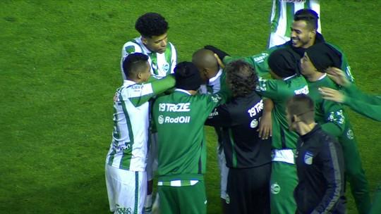 O gol de Juventude 1 x 0 Paysandu pela 27ª rodada do Campeonato Brasileiro da Série B
