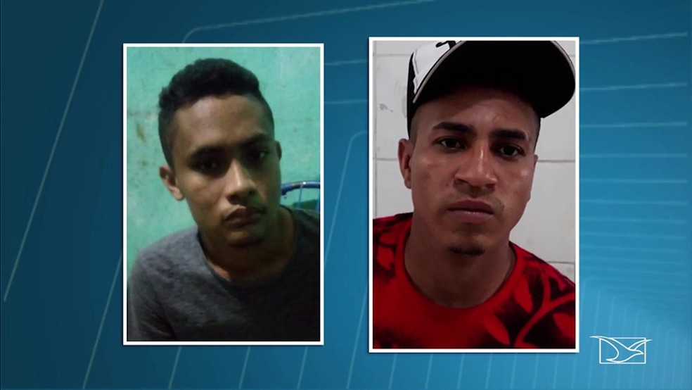 Ambos confessaram os assaltos e afirmaram que estavam roubando para cuidar da saúde  (Foto: Reprodução/ TV Mirante)