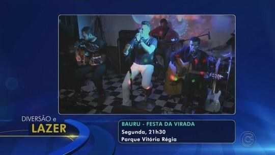 Bauru e outras cidades do Centro-Oeste Paulista realizam festa de Réveillon